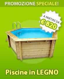 Docce per piscina piscine italia - Piscine da esterno in legno ...