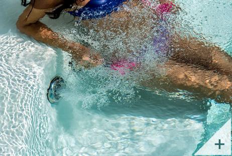 Minipiscina vasca idromassaggio SPA Blue Vision - Bocchetta idromassaggio 1