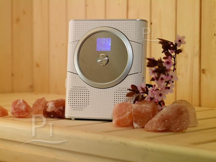 Lettore cd con radio fm per cabine a infrarossi piscine for Pulitore di cabina