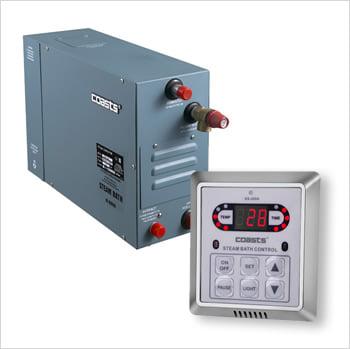 2 generatore di vapore con pannello di controllo