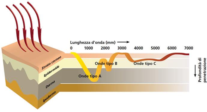 Saune infrarossi: penetrazione ed effetti dei raggi infrarossi