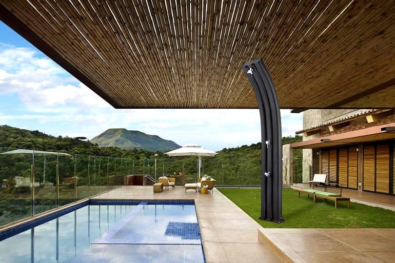 Piscineitalia doccia solare energy pro - Doccia solare per piscina ...