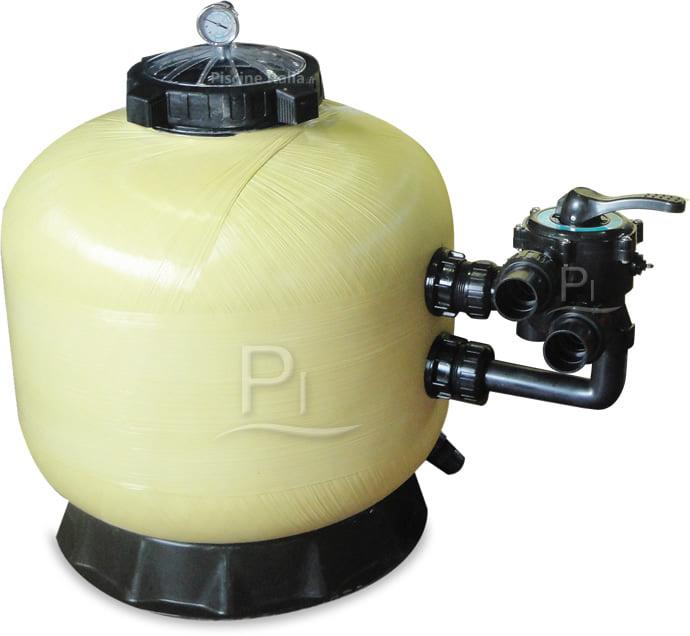 Piscineitalia filtro a sabbia per piscine tirreno side 450 - Filtri per piscine ...