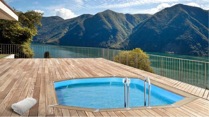 Costruire Sdraio In Legno.ᐅ Piscine Fuori Terra In Legno Autoportanti Piscine Italia
