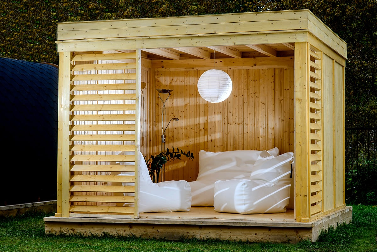 Gazebo da giardino garden cube set b 3x3m piscine italia for Piscina 3x2 interrata
