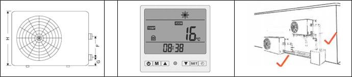 Istruzioni di montaggio pompa di calore per piscina Thermacare
