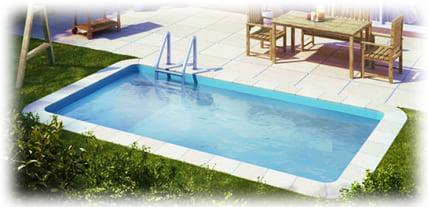 Minipiscina vasca idromassaggio SPA Blue Vision - Esterni 7