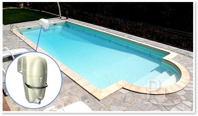 Nuoto controcorrente per piscine JET LUXE