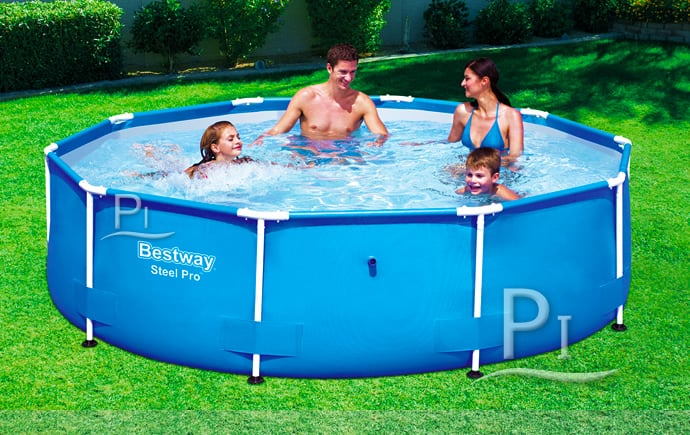 Piscineitalia piscina fuoriterra bestway steel pro 305 for Bestway italia piscine