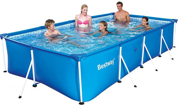 Piscineitalia piscina fuoriterra bestway steel pro 400 for Piscine bestway steel pro