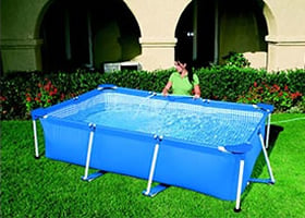 Piscineitalia piscina fuoriterra bestway steel pro 400 - Montaggio piscina bestway ...