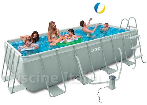 Piscineitalia piscine fuori terra intex ultraframe 400 for Accessori per piscine intex