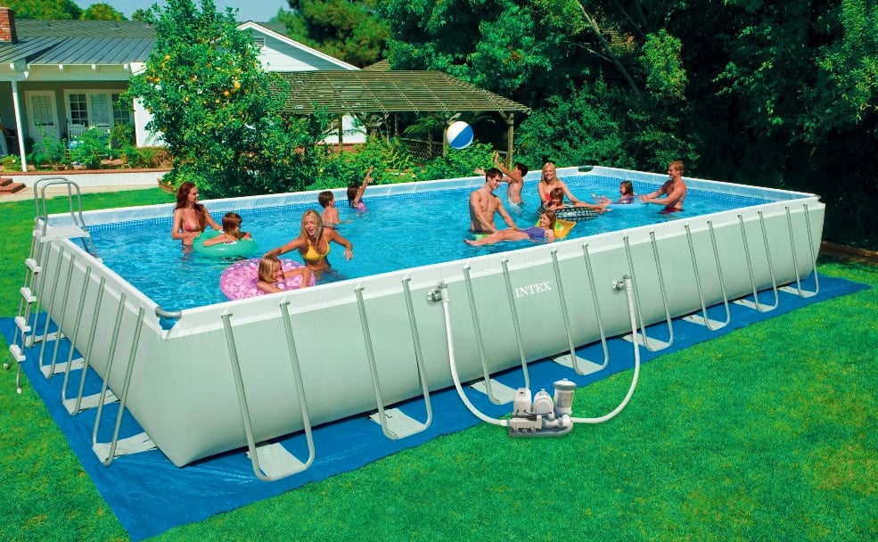 Piscineitalia piscina fuori terra intex ultraframe 975 for Filtro piscina intex
