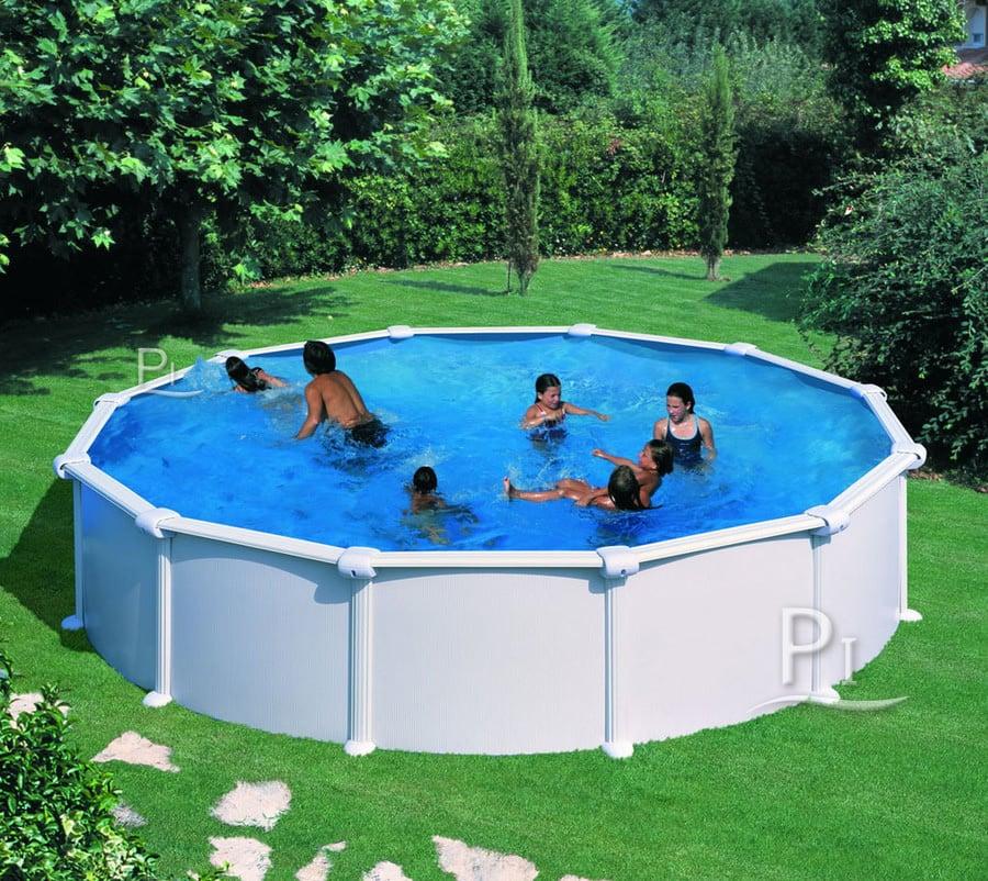 Piscineitalia piscina fuori terra in acciaio atlantis 550 for Atlantis piscine