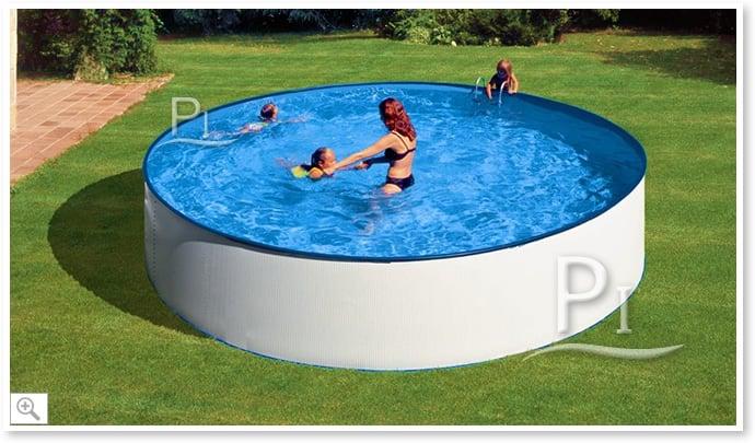Piscineitalia piscina fuori terra in acciaio tenerife 460 for Piscina acciaio
