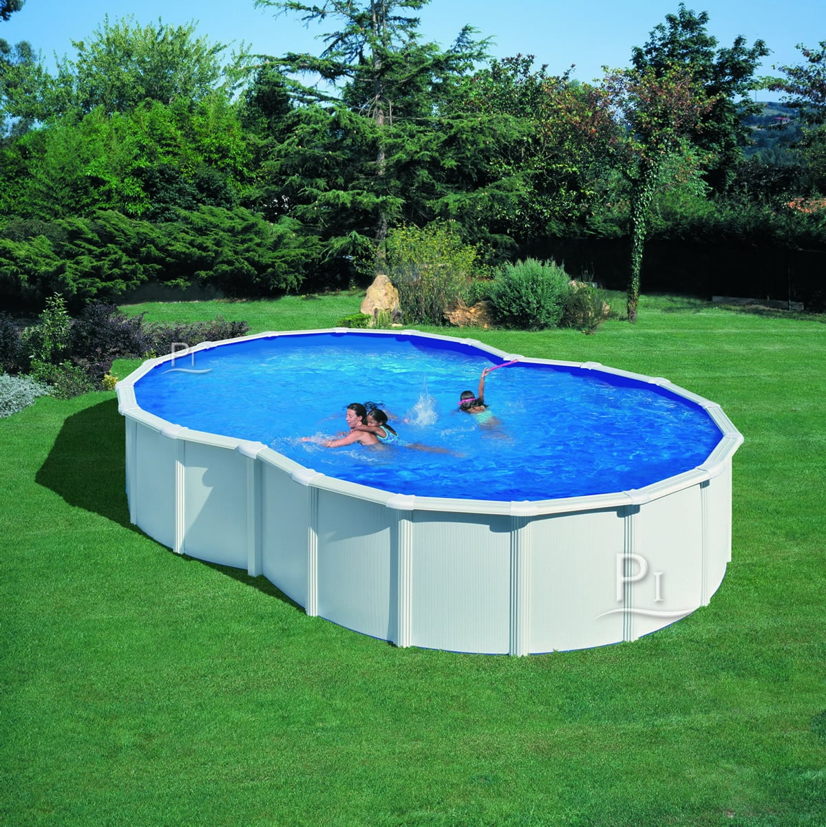 Piscina fuori terra gre in acciaio varadero 710 piscine - Piscine in acciaio fuori terra ...