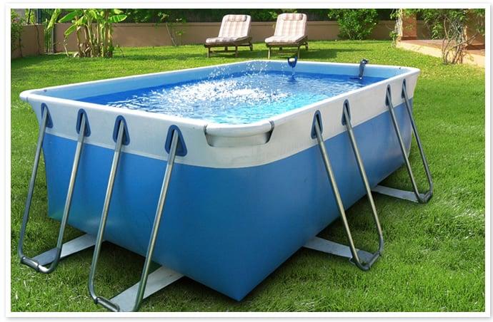 Piscineitalia piscina fuoriterra tubolari laguna basic 100 for Piscine 4x2
