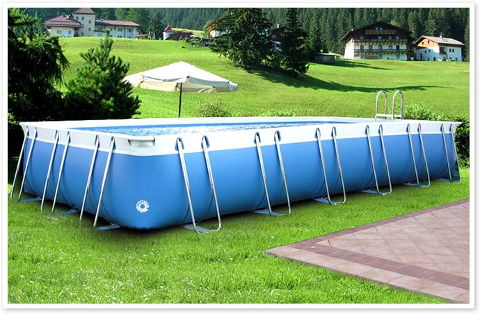 Piscineitalia piscina fuoriterra for Prix piscine 7x4