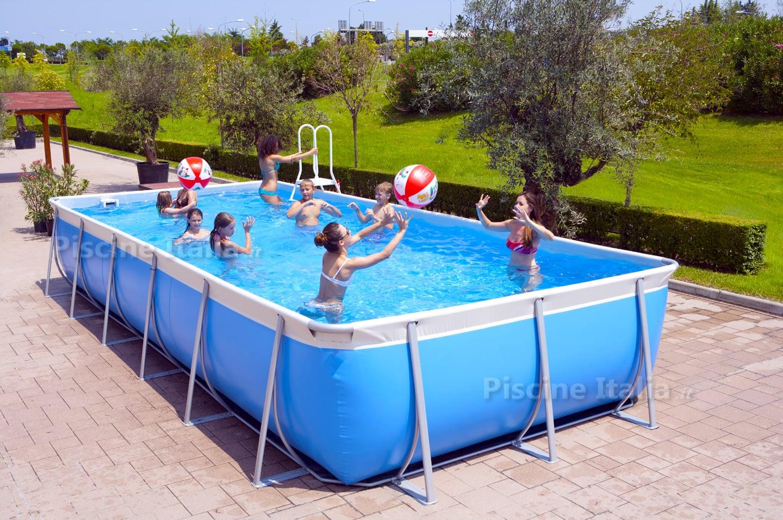 Piscina fuori terra tubolari maldive 650 ultimo pezzo piscine italia - Piscina a terra ...