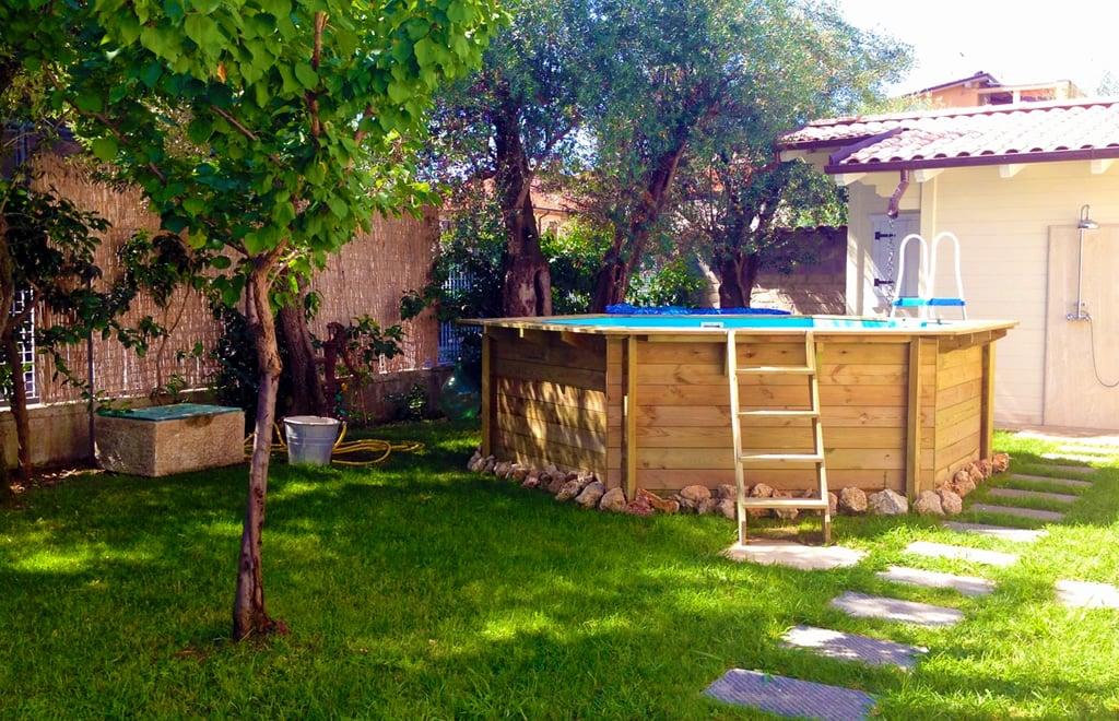 piscina fuori terra in legno jardin 434