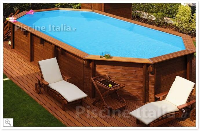 Très PiscineItalia - Piscina fuori terra in legno JARDIN 607 DD82