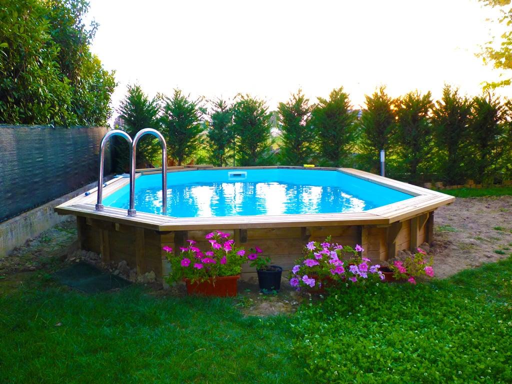 piscina fuori terra in legno jardin 815