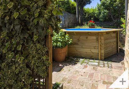 Foto dei clienti - Piscina in legno da giardino Jardin 354 - Foto 3