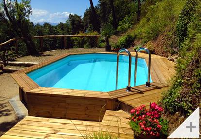 Foto dei clienti - Piscina in legno da giardino Jardin 560 - Foto 2