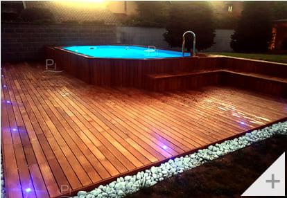 Foto dei clienti - Piscina in legno da giardino Jardin 607 - Foto 3
