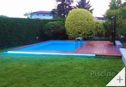 Foto dei clienti - Piscina in legno da giardino Jardin CARRE 470 - Foto 3