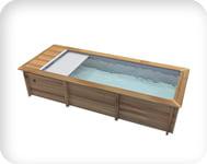 Piscina in legno URBAN 600x320 Kit STANDARD