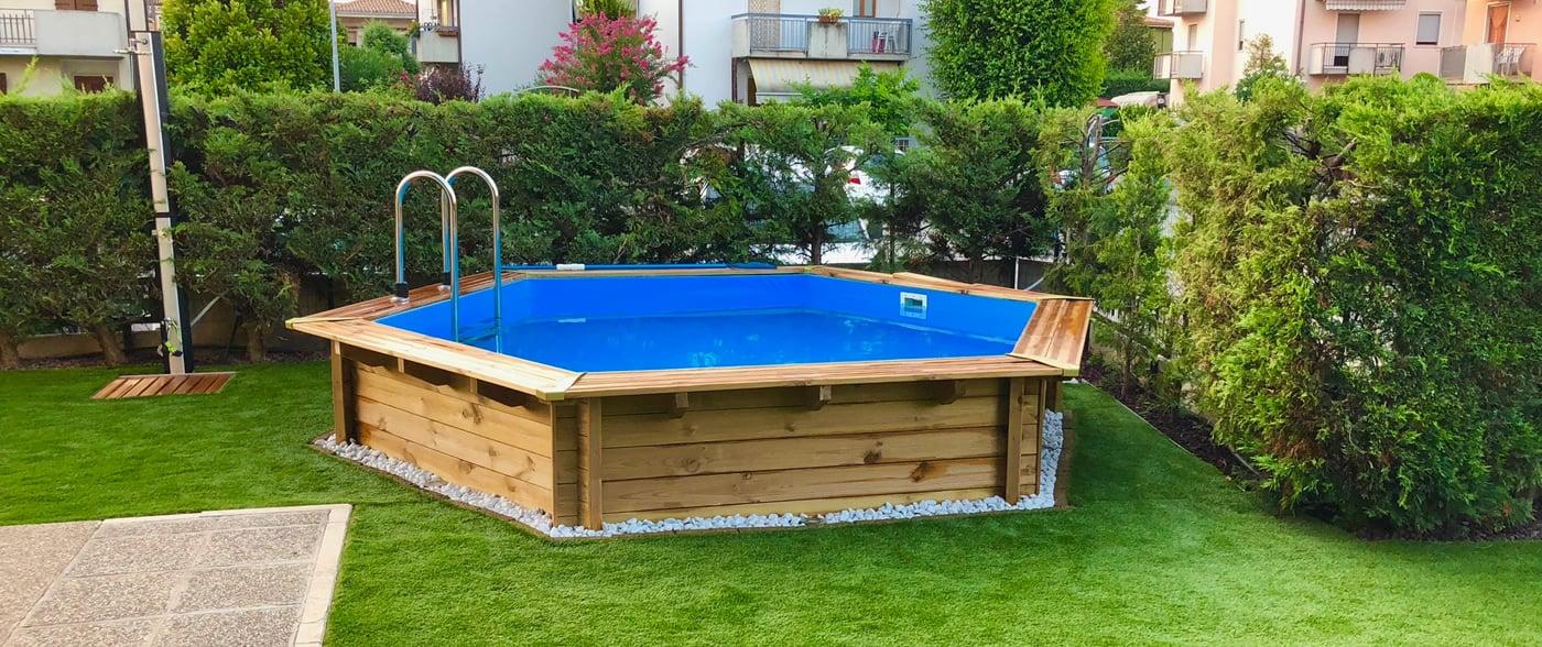 Piscine Interrate Prezzi Tutto Compreso piscina in legno fuori terra jardin 434