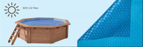 Copertura estiva della piscina in legno fuori terra da giardino Jardin