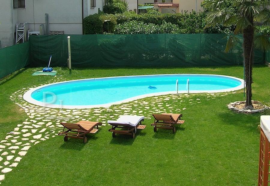 Piscineitalia piscine interrate futura perla 120 deluxe - Piscine da giardino interrate prezzi ...
