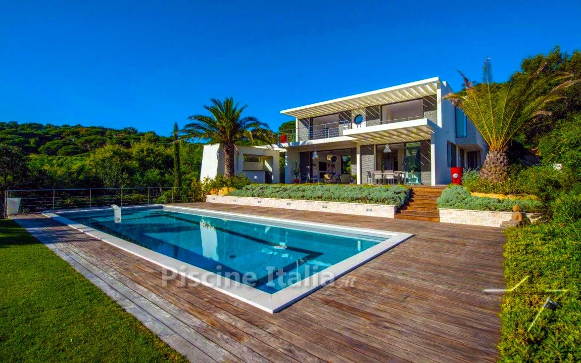 Piscineitalia piscina interrata kit pannelli acciaio for Progetti di piscine e pool house