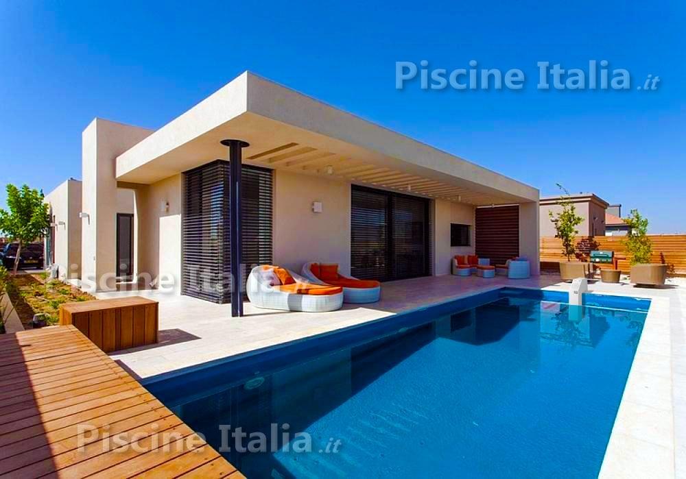 Piscineitalia piscina interrata kit pannelli acciaio for Piscine italia