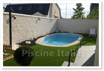 Piscina interrata in vetroresina lanzarote piscine italia - Piscine prefabbricate costi ...