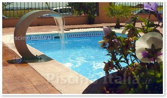Piscineitalia piscina interrata in vetroresina manta for Piscine interrate in vetroresina