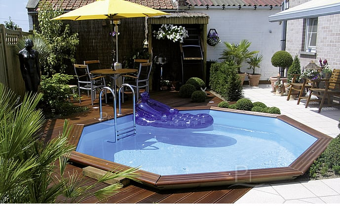 Piscine in legno 3 jardin 537 kit interrata piscine italia - Piscine da interrare ...