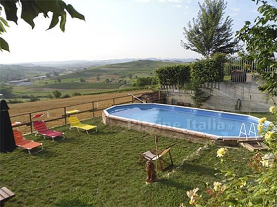 Piscina fuori terra gre in acciaio 2 primavera 610 piscine italia - Piscina fuori terra in giardino ...