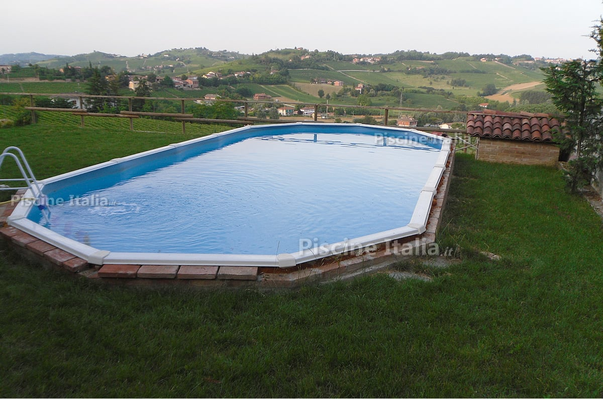 Piscine piccole interrate flagpool new generation ng un for Piscina fuori terra oasi