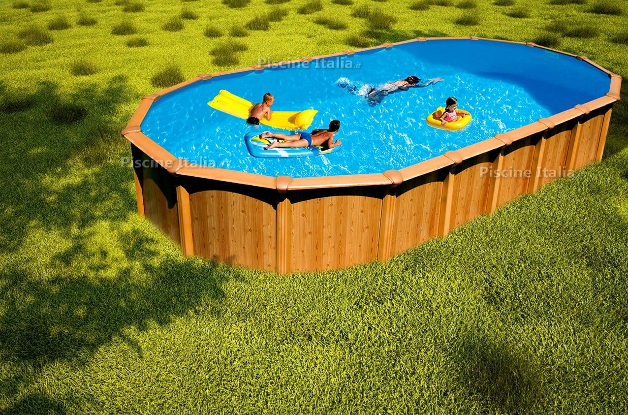 Piscineitalia piscina fuori terra in acciaio osmose for Piscina desmontable 2x4