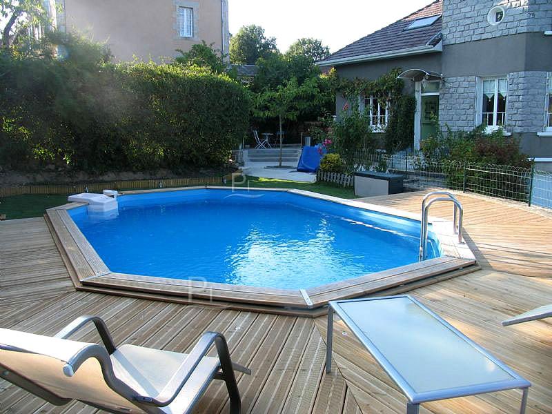 Piscineitalia piscina fuori terra in legno jardin 727 for Piscine italia