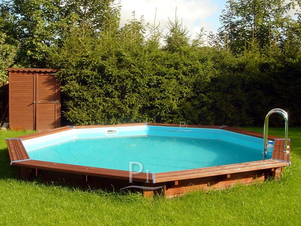 piscina fuori terra in legno tropic 505. Black Bedroom Furniture Sets. Home Design Ideas