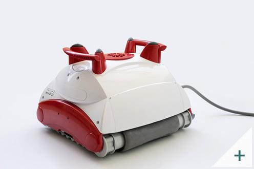 Robot pulitore piscina Falcon K200: vista posteriore