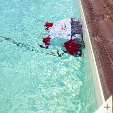 Robot pulitore piscina Falcon K200 pulizia pareti piscina