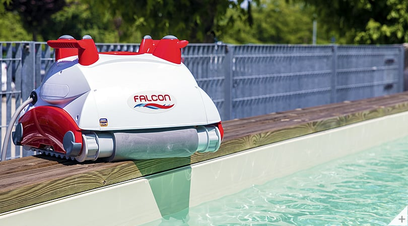 Robot piscina Falcon K100 per fondo foto 1