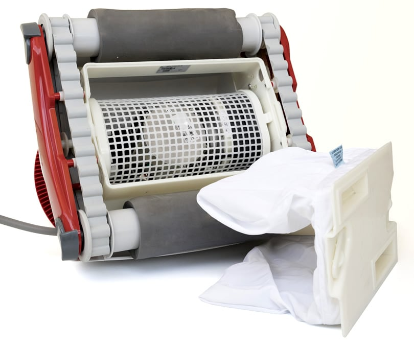 Robot pulitore piscina Falcon K200 per fondo e pareti sacco filtro