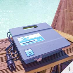 Robot pulitore piscina Falcon K200 galleggiante anti attorcigliamento