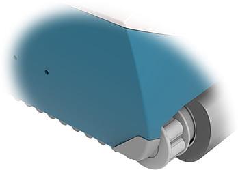Robot automatico piscina per il fondo e pareti FRC 90: cingoli laterali